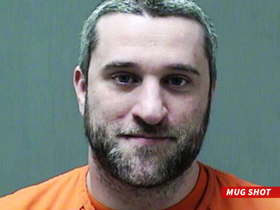 Dustin Diamond -- Screech Checks Into The Big House (MUG SHOT)