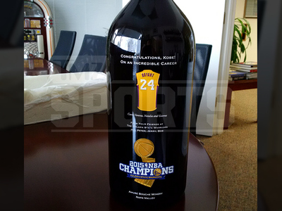 Kobe Bryant -- Special Wine Worth a Fortune ... 'Tens of Thousands of Dollars'