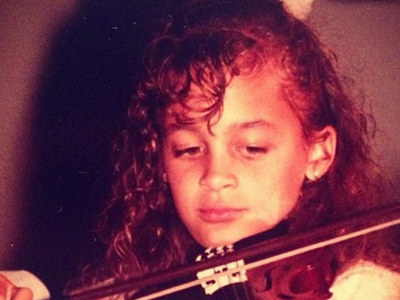 Guess Who This Vivacious Violinist Turned Into!