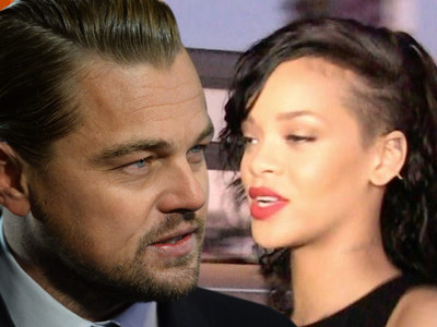 Leonardo DiCaprio & Rihanna -- Oui in Paris Club, But We Are NOT Kissing or Banging