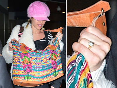Miley Cyrus -- Does This Ring Look Familiar? (PHOTOS)