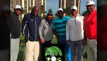 Lawrence Taylor -- Dominates Celeb Golf Tourney ... Crushes NFL Legends
