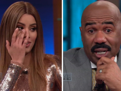 Miss Colombia -- I Won't Sue You ... Brings Steve Harvey to Tears (VIDEO)