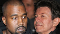 Kanye West -- Bowie Petition Is Worthless ... I'm Not Touching His Music
