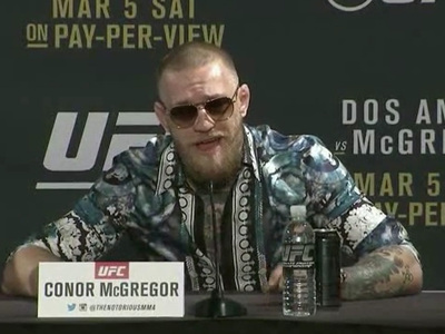 Conor McGregor -- 'Me & Jesus Are Cool' ... Gods Recognize Gods