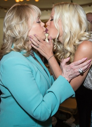 Candy and Tori Spelling Photos