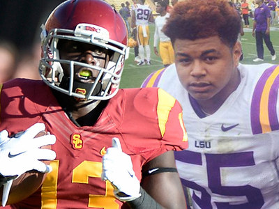USC & LSU -- Ex-Football Players Charged In Alleged Violent Robbery Spree