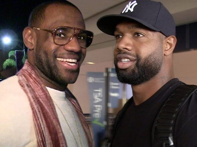 LeBron James -- NFL Tight End Scores Gig On New TV Show