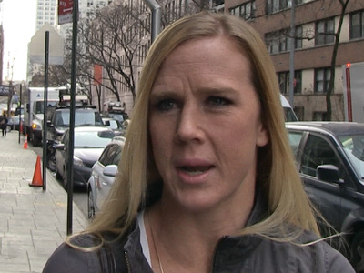 Holly Holm -- I'm Likin' Trump for Prez