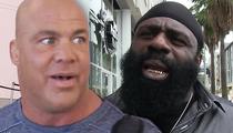 Kurt Angle -- Considering MMA Fight ... Name Drops Kimbo Slice