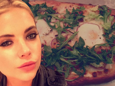 Ashley Benson's 7 Steps To Making A Pretty Little Pizza