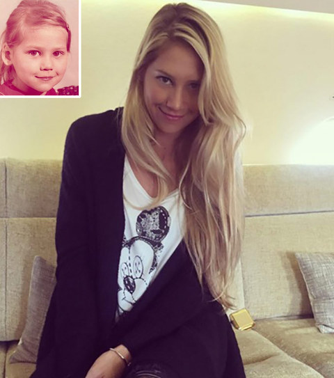 It's Anna Kournikova!
