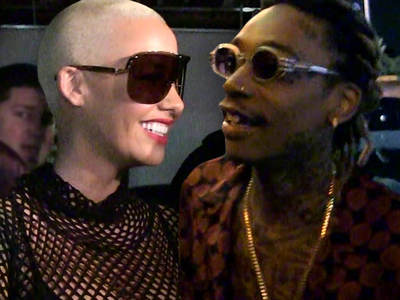 Amber Rose & Wiz Khalifa -- We're Not Banging, We're BFFs!
