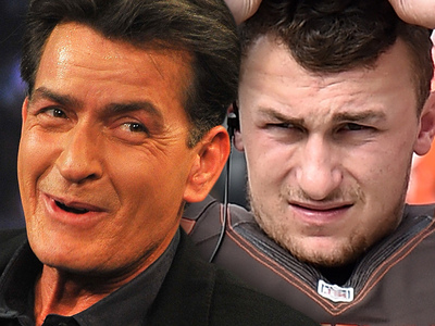 Charlie Sheen -- Even I'm Worried For Johnny Manziel