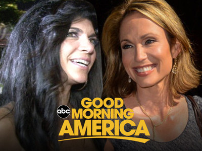 Amy Robach Scored Teresa Giudice Sit Down Over GMA's Big Dogs ... Sorry, Robin & George
