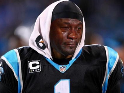 Michael Jordan -- I'm Cool w/ Crying Face Meme ... However ...