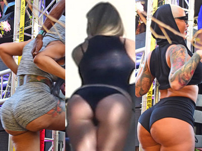 Blac Chyna vs. Gwyneth Paltrow vs. Amber Rose: The Booty Playoff! (PHOTOS)