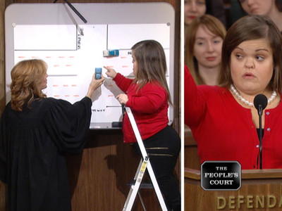 "'Little Women: LA"" -- Gets a Little Justice in 'The People's Court' (VIDEO)"