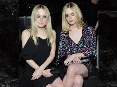 Dakota & Elle Fanning -- Serious Redrum Vibes (PHOTO)