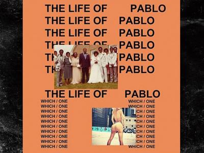 Kim Kardashian -- I Tapped the Bootay On Kanye's 'T.L.O.P.' Album Cover