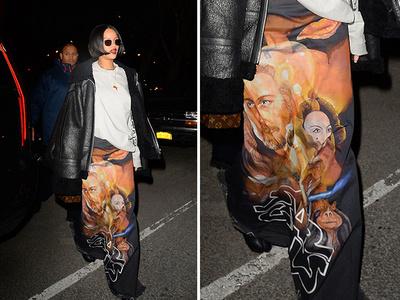Rihanna -- Dressing For A Galaxy Far, Far Away (PHOTO)