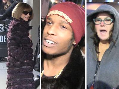 Kanye West -- Celebs Flock to MSG (VIDEO)