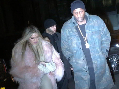Lamar Odom & Khloe Kardashian -- We're Back ... to Soaking Up the Spotlight (VIDEO)