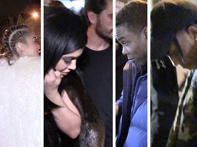 Rihanna -- Celebs Flock to Fashion Show