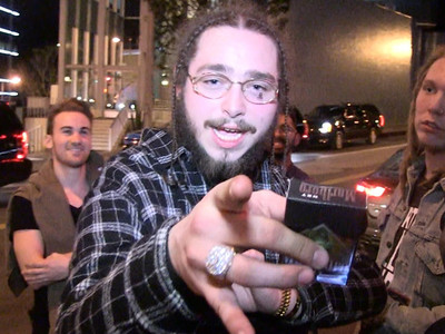 Post Malone -- I'm with Kanye West ... And You're Not! (VIDEO)