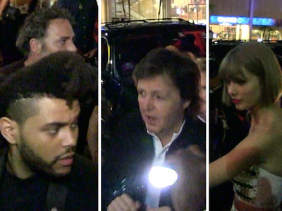 Republic Records Grammy Party -- Taylor, Sir Paul, Weeknd Rub Elbows (VIDEO)
