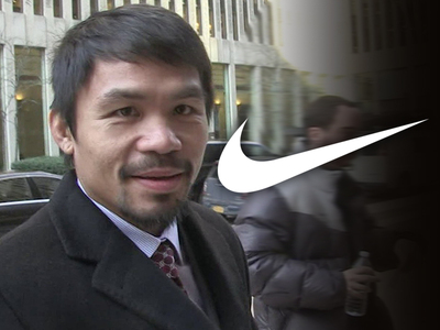Nike -- Preparing to Drop Manny Pacquiao ... After Anti-Gay Comments