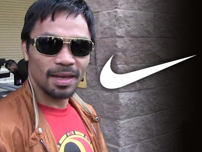 Manny Pacquiao -- FIRED BY NIKE ... 'Gay Comments Are Abhorrent'