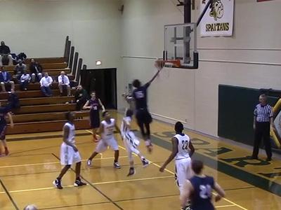Caron Butler's Son -- Ballin' Like My Daddy ... Scores 41 in HS Game