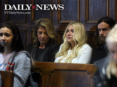 Kesha -- Sob Face Comes Out After Judge's Decision (PHOTO)