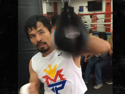 Manny Pacquiao -- I Still Love Nike ... Even If Nike Hates Me