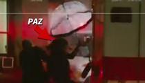 Paz de la Huerta -- Video Shows Actress Crushed in Ambulance Crash (VIDEO)