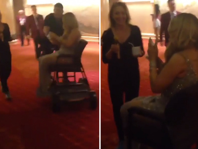 Mariah Carey -- Wheeled Around Vegas ... the Shoes Made Me Do It! (VIDEO)