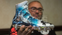 NFL Combine -- Players Get Sick Custom Cleats ... On the Spot!