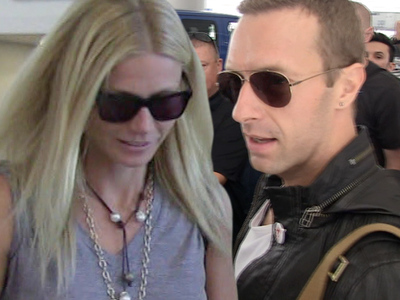 Gwyneth Paltrow, Chris Martin -- Cold Play Slow Play in Divorce