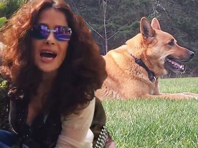 Salma Hayek -- Furious Cops Sided with Neighbor in Dog's Death