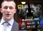Johnny Manziel -- Vegas Baby, Vegas ... For UFC 196