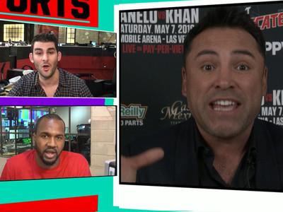 Oscar De La Hoya -- Trump Is Trying to Get Hillary Elected (Video)