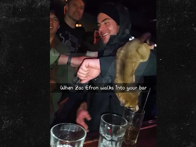 Zac Efron -- I Got a 'Monkey' on My Arm ... In a Bar (VIDEO)