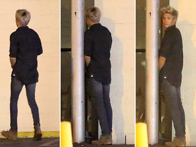 Niall Horan -- Wizzing In One Direction (PHOTOS)