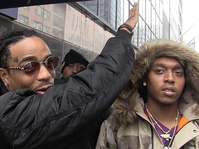 Migos -- When It Comes to Dabbin' ... Hillary and Bill Gates Take the Cake (VIDEO)