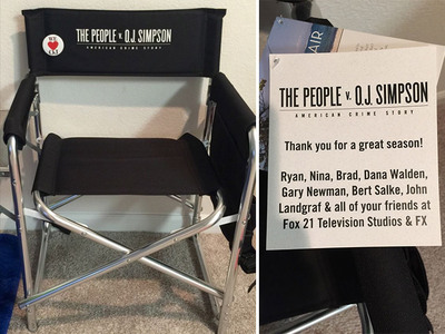 'People v. O.J. Simpson' -- The Show's A Hit, But All I Got Was This Lousy Chair (PHOTOS)