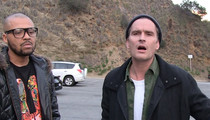 Balthazar Getty -- Black Panthers and Their Bones Are Close to My Heart (VIDEO)