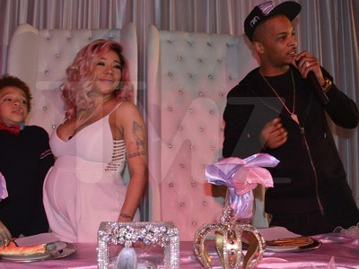 T.I. & Tiny -- Chef Bolted with Our Dough and Hors D'oeuvres!! (PHOTOS)
