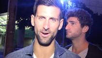 Novak Djokovic -- I Won't Turn My Back on Maria Sharapova (VIDEO)