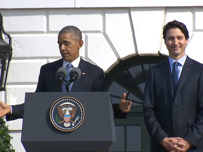 President Obama -- Trolls Canadian Prime Minister ... 'Where's the Stanley Cup!?' (VIDEO)